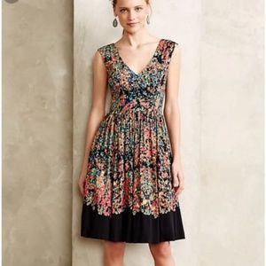 Anthropologie Plenty Tracy Reese watercolor dress